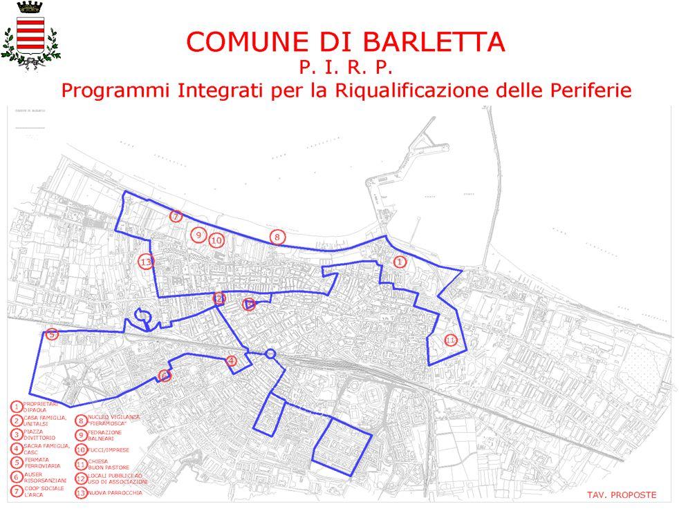 COMUNE DI BARLETTA P.I. R. P.