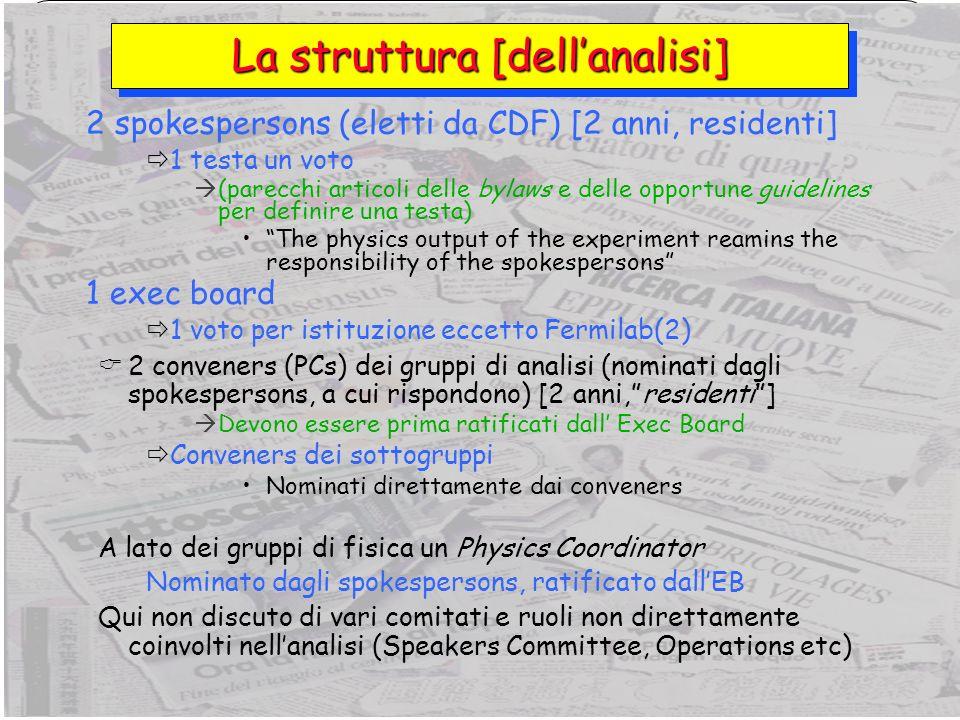 5 Giorgio Chiarelli, INFN PisaLHC Workshop, Bologna, 25 novembre 2006 Chi assume il ruolo centrale.