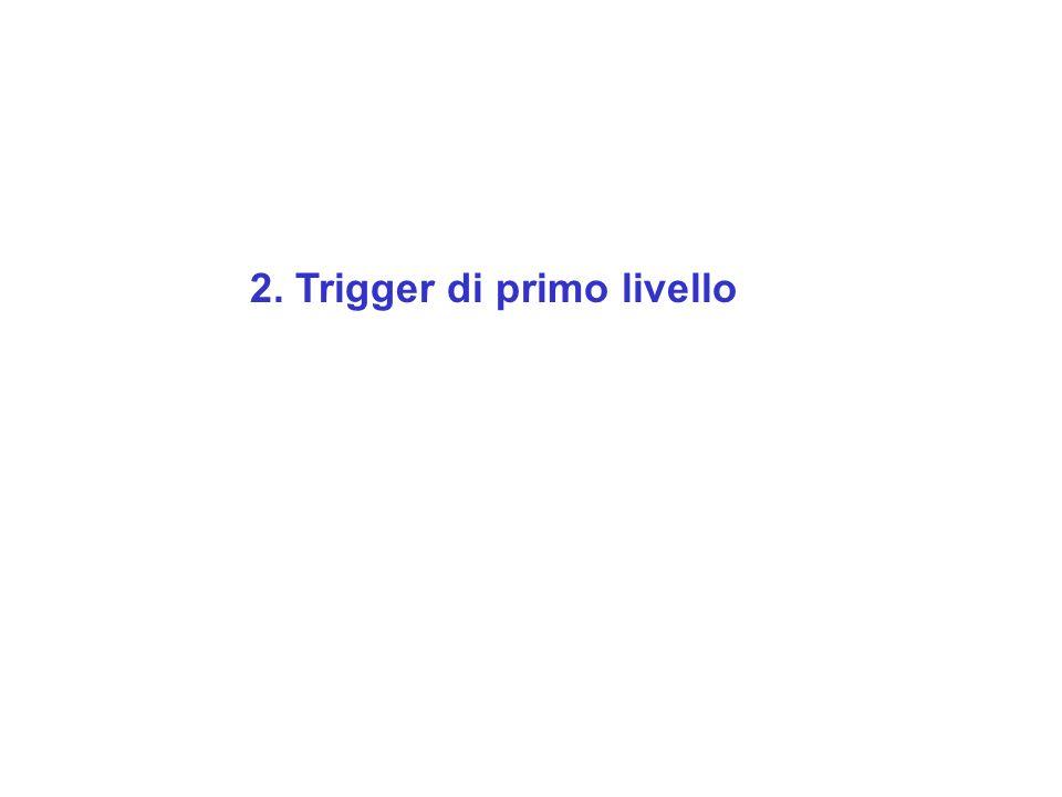 2. Trigger di primo livello