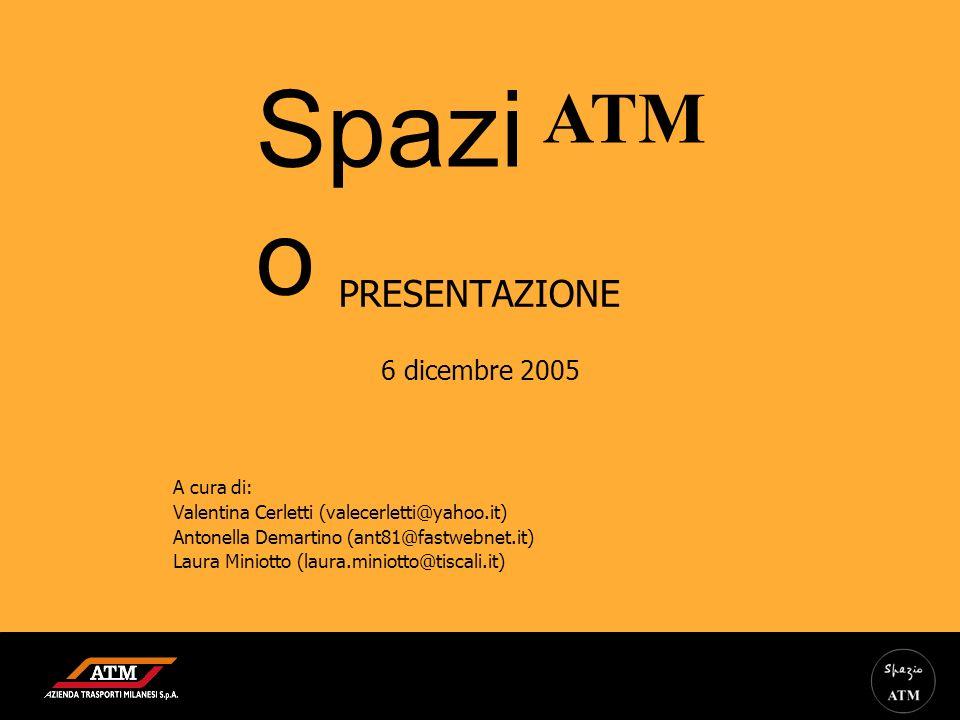 PRESENTAZIONE 6 dicembre 2005 A cura di: Valentina Cerletti (valecerletti@yahoo.it) Antonella Demartino (ant81@fastwebnet.it) Laura Miniotto (laura.mi