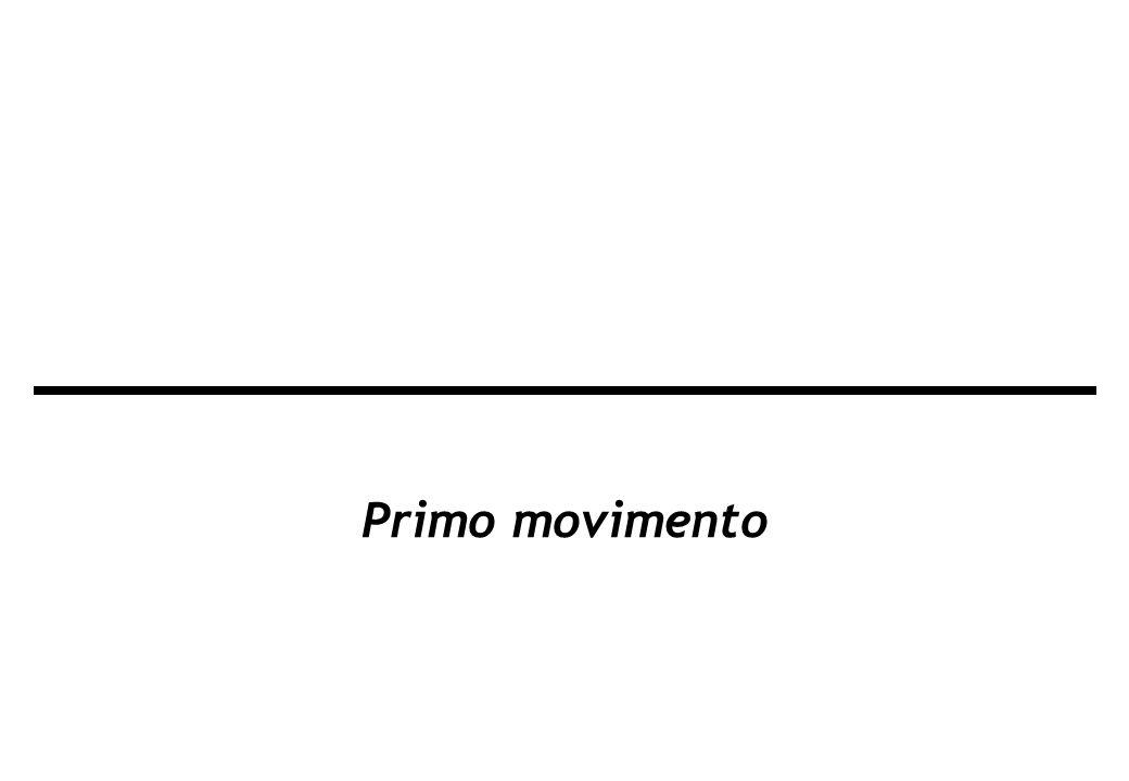 Primo movimento