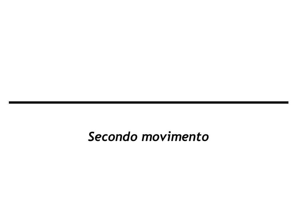 Secondo movimento