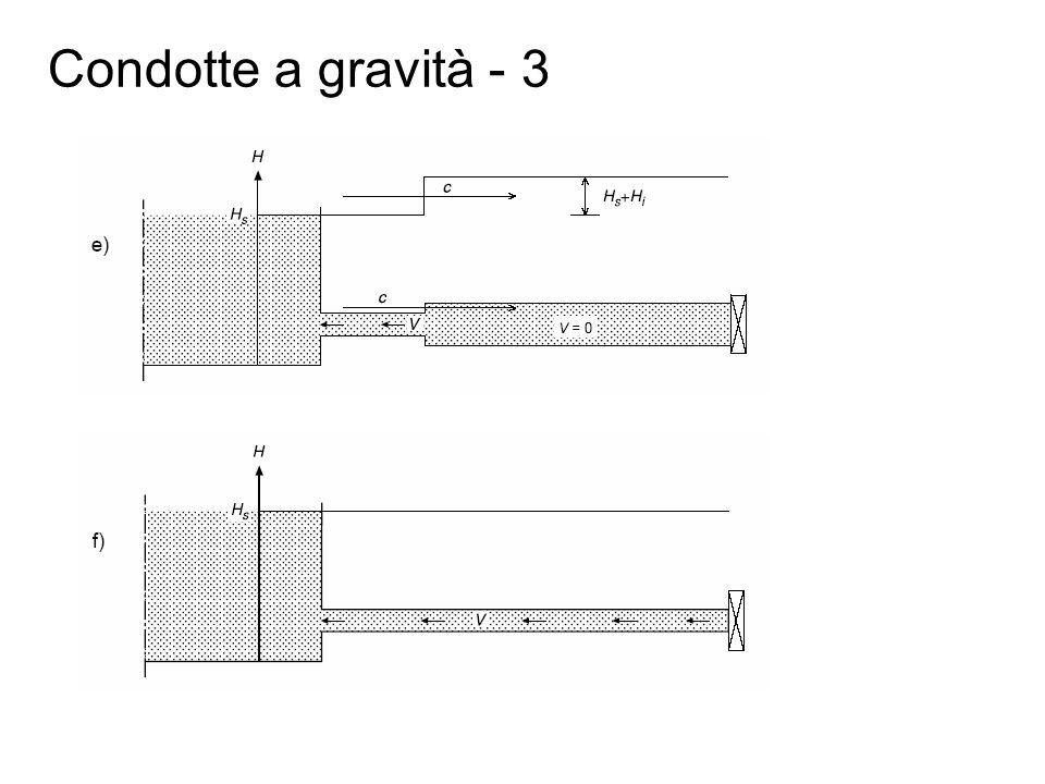 Condotte a gravità - 3