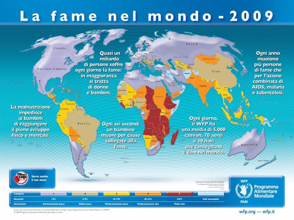 Il Comitato Italiano WFP Onlus Informa Sensibilizza sulle tematiche legate alla lotta contro la fame.