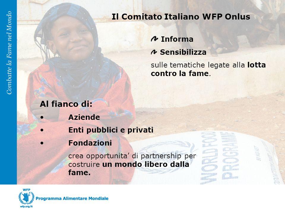 promuovono una iniziativa congiunta di Sensibilizzazione e Raccolta Fondi a favore dellazione del WFP contro la fame nel mondo attraverso la campagna 5 x mille Comitato Italiano WFP e ODCEC - Provincia di Latina Insieme