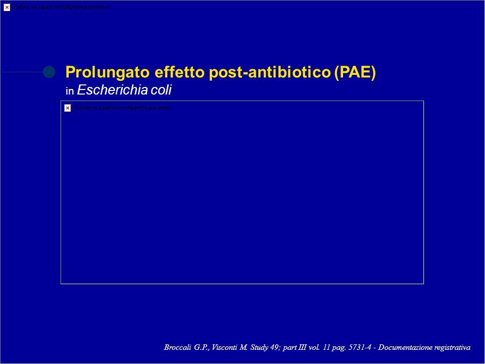 Eliminazione Concentrazioni urinarie di ulifloxacina Picollo R.