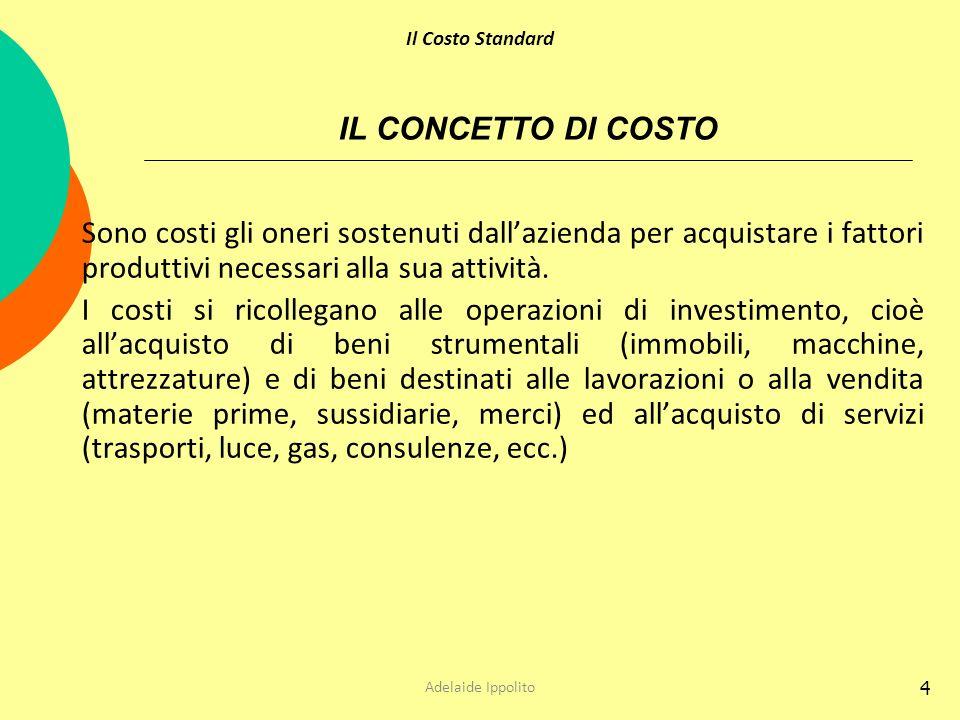 5 IL CONCETTO DI RICAVO Speculare al concetto di costo è quello di ricavo.