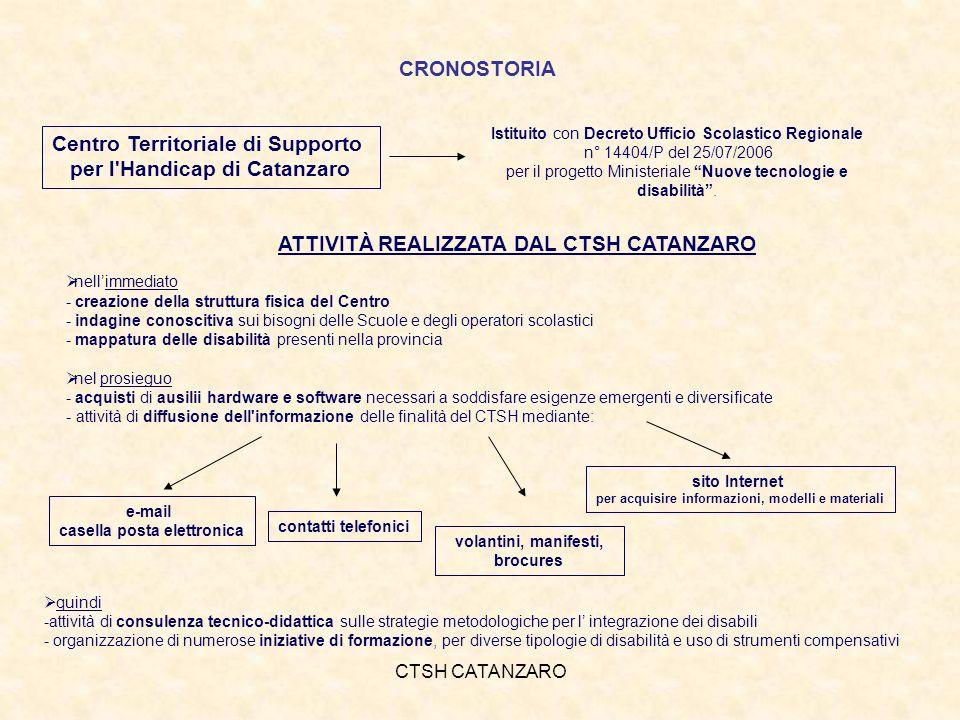 CTSH CATANZARO 6 NOVEMBRE 2008 - Autismo: che fare.