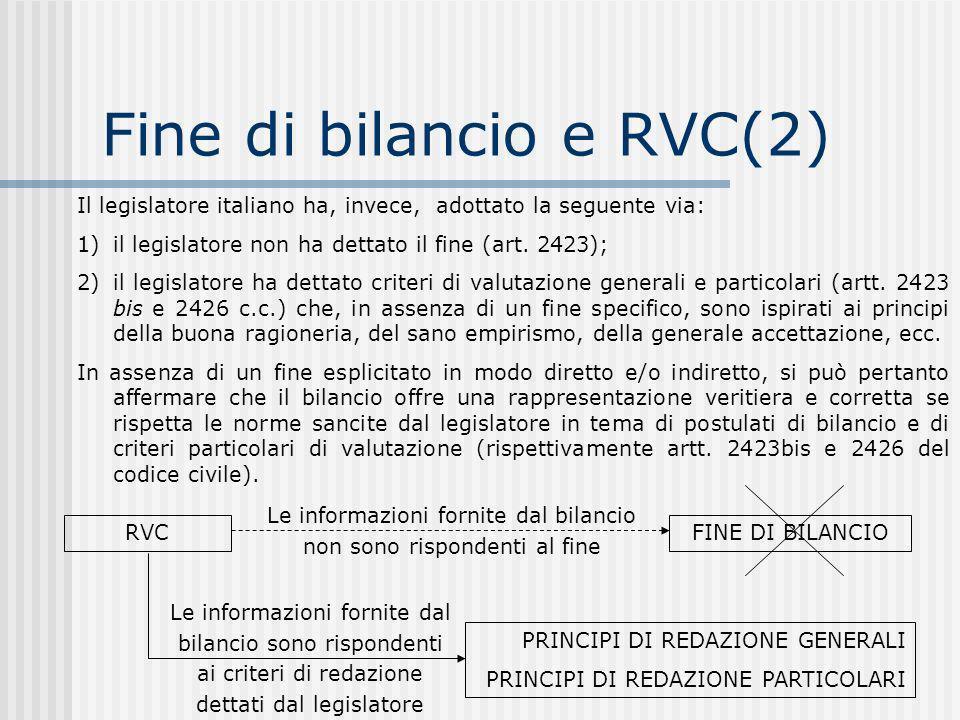 Il legislatore italiano ha, invece, adottato la seguente via: 1)il legislatore non ha dettato il fine (art.