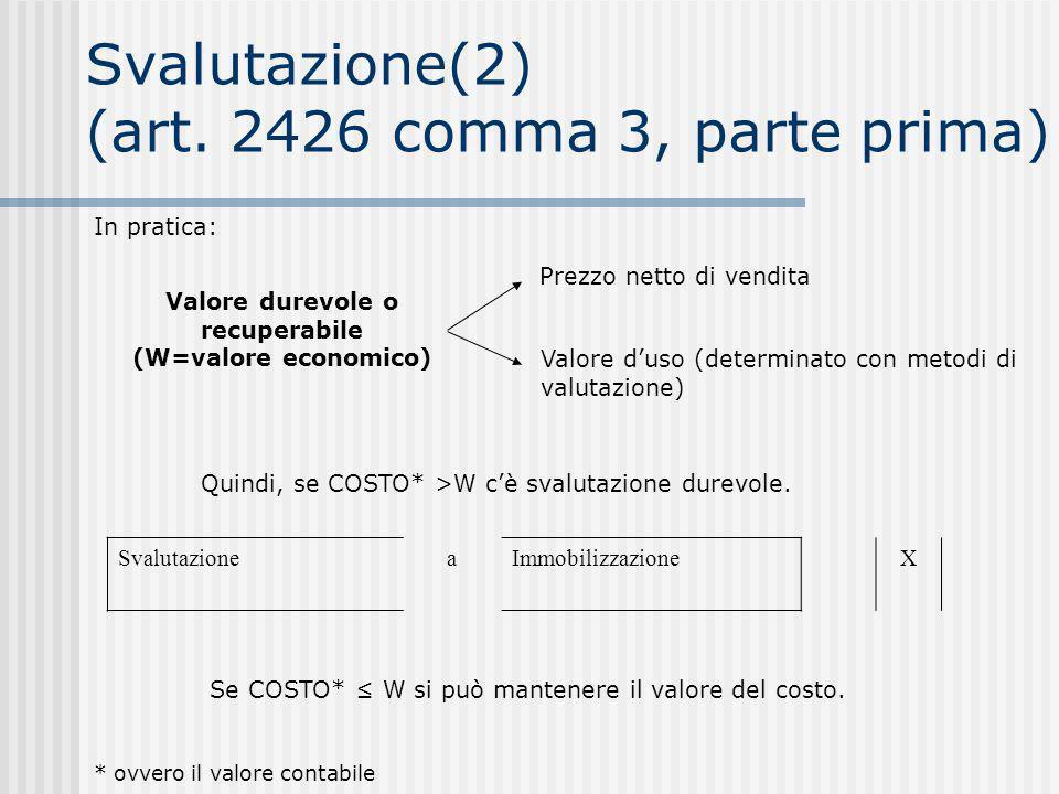 Svalutazione(2) (art.