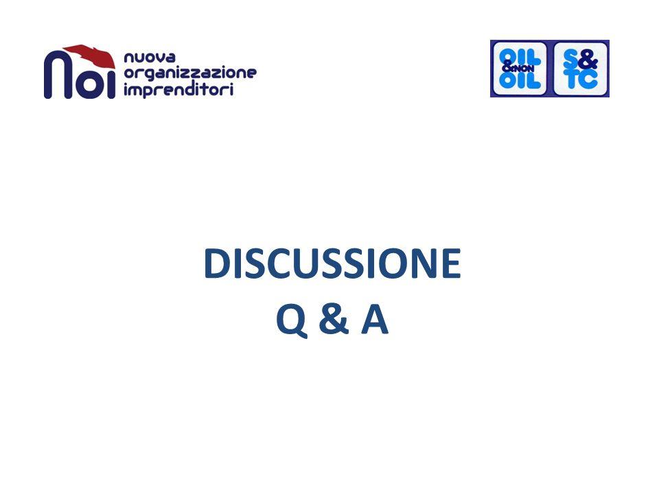 DISCUSSIONE Q & A