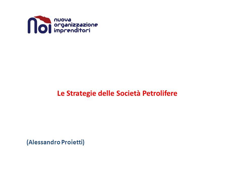 Le Strategie delle Società Petrolifere (Alessandro Proietti)