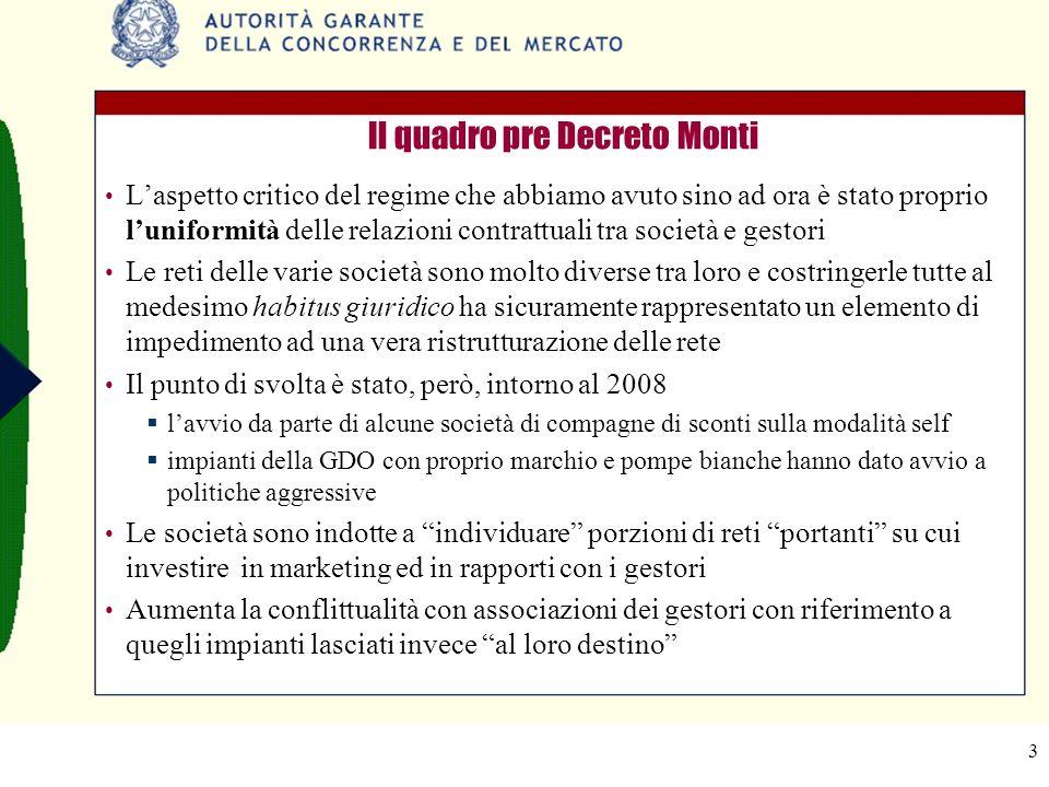 4 La liberalizzazione delle forme contrattuali La posizione dellAGCM (segnalazione AS901 al Governo del 5/1/2012): lAutorità ritiene necessario che in tempi brevi vengano adottate le seguenti misure pro-concorrenziali: […] estensione della liberalizzazione delle forme contrattuali, prevista dal comma 12 dellart.