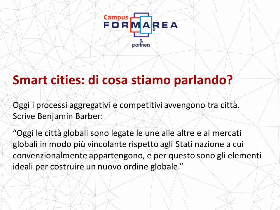 Smart cities: di cosa stiamo parlando.