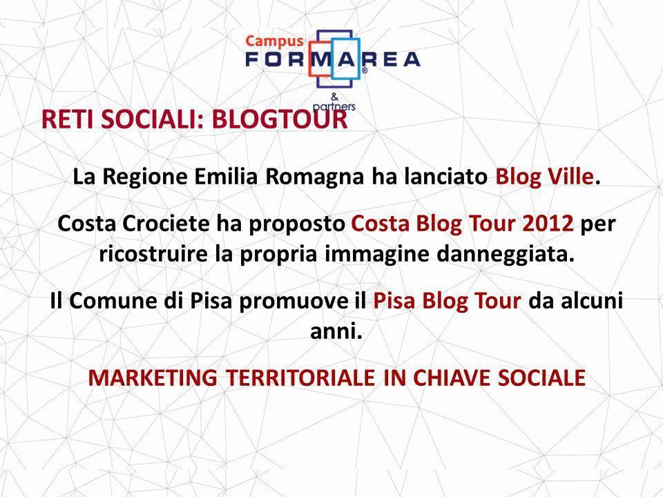 RETI SOCIALI: BLOGTOUR La Regione Emilia Romagna ha lanciato Blog Ville.