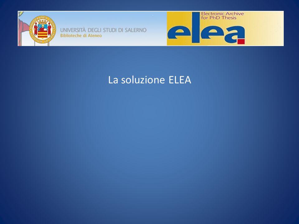 l La soluzione ELEA
