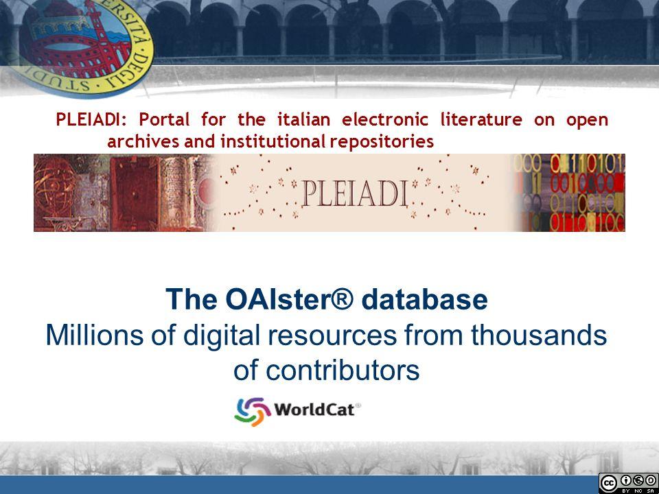 Google Scholar offre un modo semplice per effettuare un ampia ricerca sulla letteratura accademica