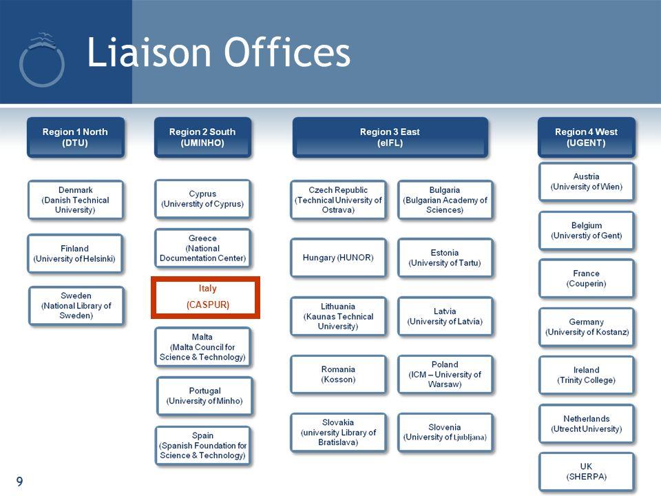 Liaison Offices 9 Italy (CASPUR)