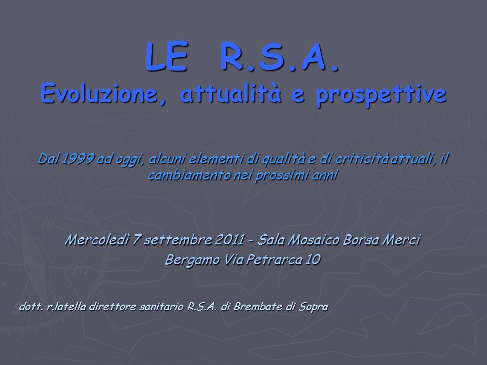LE R.S.A.