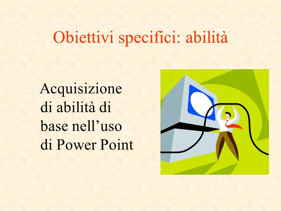 Caratteristiche di PPT Lunità fondamentale del programma PPT è la diapositiva (o slide).