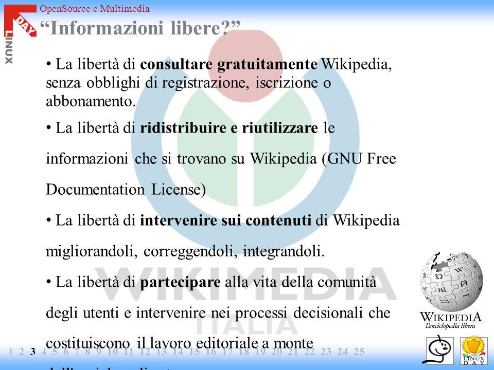 OpenSource e Multimedia Informazioni libere.