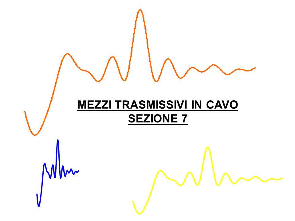 MEZZI TRASMISSIVI IN CAVO SEZIONE 7