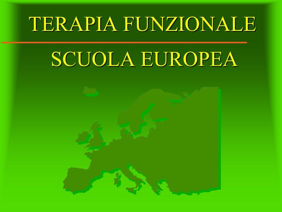 TERAPIA FUNZIONALE SCUOLA EUROPEA
