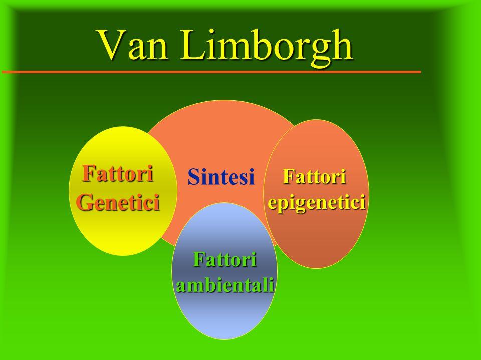 Van Limborgh Sintesi FattoriGenetici Fattoriepigenetici Fattoriambientali