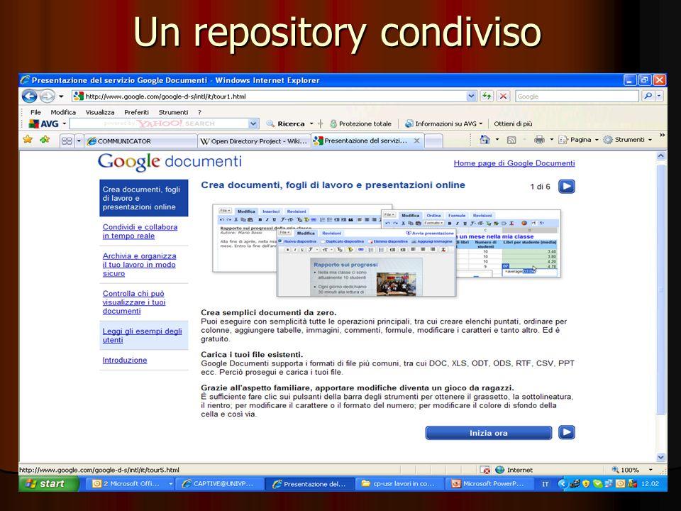 58 Un repository condiviso