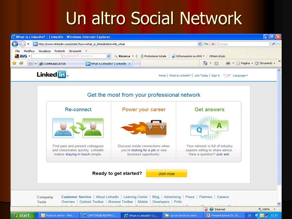 62 Un altro Social Network