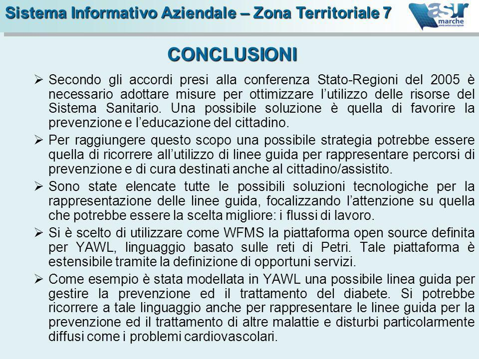 Secondo gli accordi presi alla conferenza Stato-Regioni del 2005 è necessario adottare misure per ottimizzare lutilizzo delle risorse del Sistema Sani