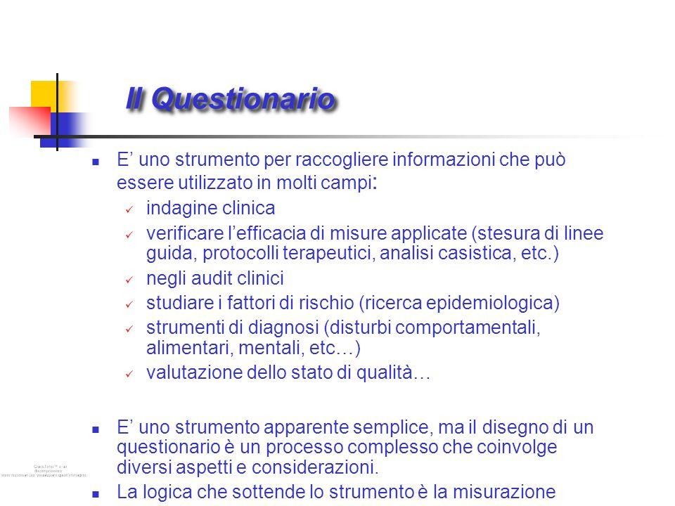 Costruzione delle domande 1.