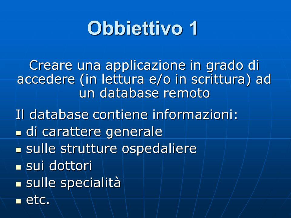 Obbiettivo 2 Il portale deve poter essere usufruito anche da persone con poche conoscenze informatiche.