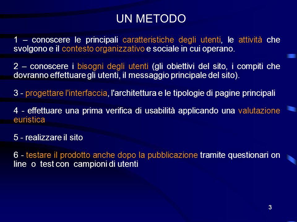 3 1 – conoscere le principali caratteristiche degli utenti, le attività che svolgono e il contesto organizzativo e sociale in cui operano.