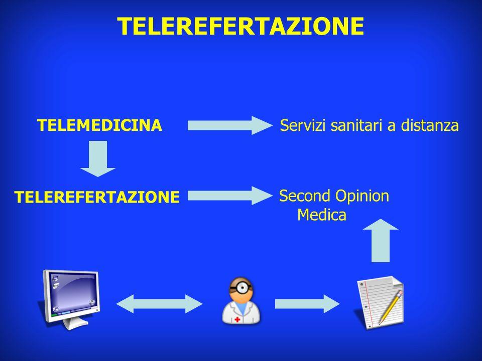 TELEMEDICINAServizi sanitari a distanza Second Opinion Medica