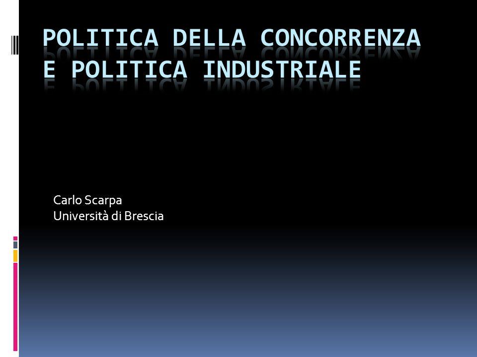 Carlo Scarpa Università di Brescia