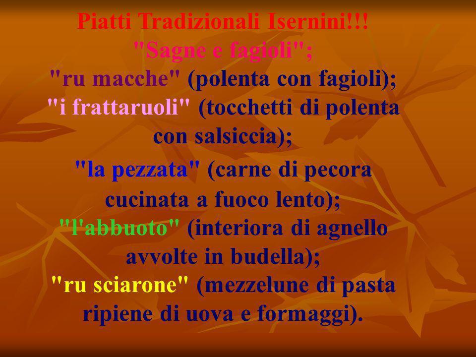 Piatti Tradizionali Isernini!!.