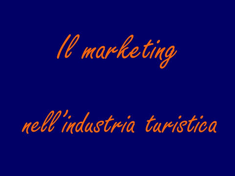 nellindustria turistica Il marketing