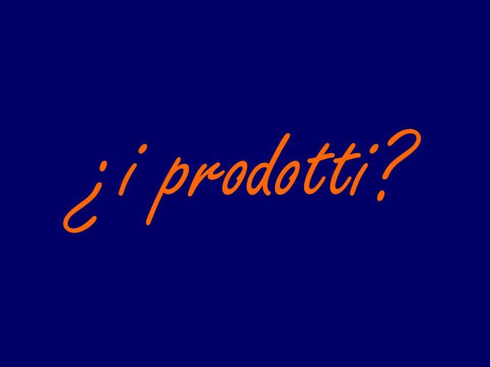 ¿i prodotti?