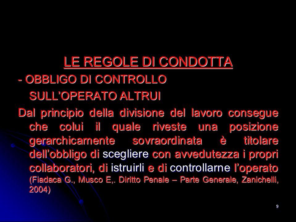 10 LINFERMIERE HA UN DOVERE DI CONTROLLO SULLOPERATO DEL PERSONALE DI SUPPORTO (Ambrosetti F.