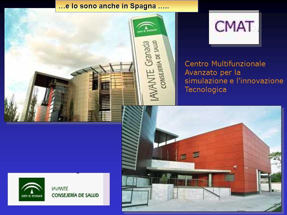 Centro Multifunzionale Avanzato per la simulazione e l'innovazione Tecnologica …e lo sono anche in Spagna …..