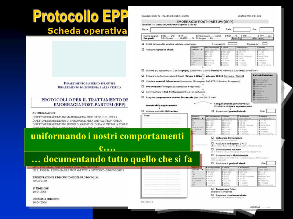 uniformando i nostri comportamenti e….
