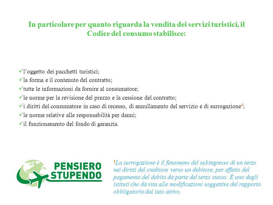 2 Il Codice del Consumo rappresenta il testo fondamentale di riferimento in materia di tutela dei diritti dei consumatori e degli utenti. Lesigenza di