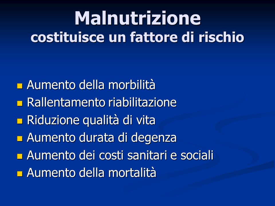 IPERCALORICHE 1,2-2 Kcal/ml 1,2-2 Kcal/ml Osmolarità 270- 473 mOsm/l Osmolarità 270- 473 mOsm/l Indicazioni NE in sepsi NE in trauma NE in insufficienza cardiaca NE in ustioni NE post-chirurgiche Priva di fibra: Ensure plus, Fresubin energy, Isosource energy,Nutrison energy Ricca di fibre solubili: Nutrison energy multifibre, Novasource G.I.