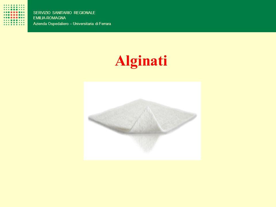 SERVIZIO SANITARIO REGIONALE EMILIA-ROMAGNA Azienda Ospedaliero – Universitaria di Ferrara Alginati