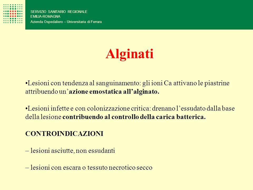 SERVIZIO SANITARIO REGIONALE EMILIA-ROMAGNA Azienda Ospedaliero – Universitaria di Ferrara Lesioni con tendenza al sanguinamento: gli ioni Ca attivano