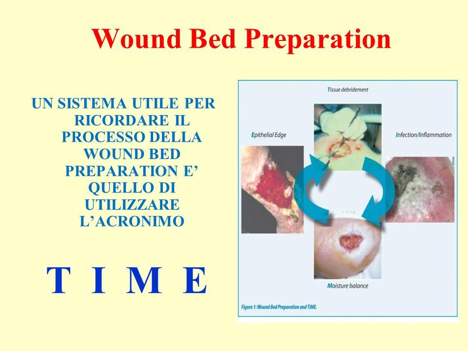 Wound Bed Preparation UN SISTEMA UTILE PER RICORDARE IL PROCESSO DELLA WOUND BED PREPARATION E QUELLO DI UTILIZZARE LACRONIMO T I M E