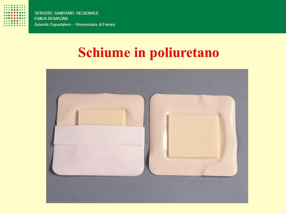 SERVIZIO SANITARIO REGIONALE EMILIA-ROMAGNA Azienda Ospedaliero – Universitaria di Ferrara Schiume in poliuretano