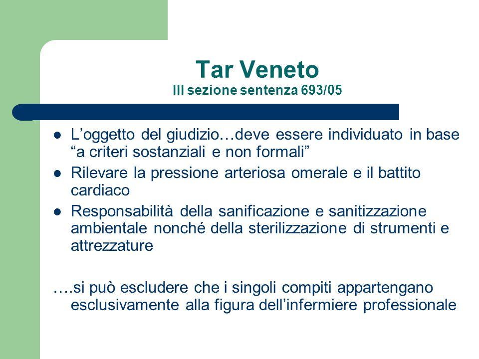 Tar Veneto III sezione sentenza 693/05 Loggetto del giudizio…deve essere individuato in base a criteri sostanziali e non formali Rilevare la pressione
