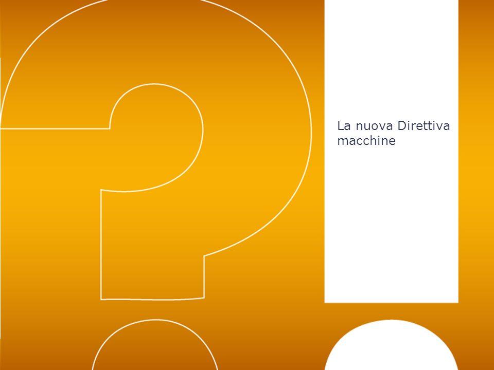 Luogo – gg/mm/aaaa – Nome Cliente19 La nuova Direttiva macchine